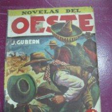 Tebeos: NOVELAS DEL OESTE Nº 51. ADIOS CAPITAN. J. GUBERN. Lote 98492691