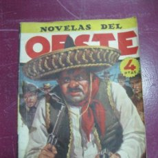 Tebeos: NOVELAS DEL OESTE Nº 54. ESCUPEPLOMO ALVAREZ. J. GUBERN. Lote 98492839