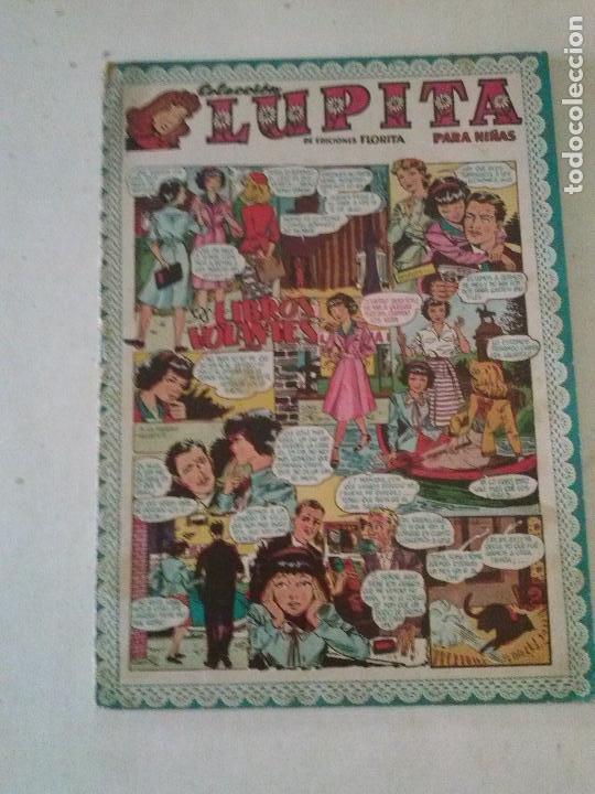 COL. LUPITA Nº 33,LOS LIBROS VOLANTES ,GERPLA CLIPER- CHICAS (Tebeos y Comics - Cliper - Otros)