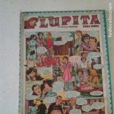 Tebeos: COL. LUPITA Nº 33,LOS LIBROS VOLANTES ,GERPLA CLIPER. Lote 98615083