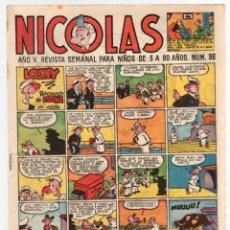 Tebeos: REVISTA NICOLAS. Nº 96. ORIGINAL. 1,30 PTAS.. Lote 98842371