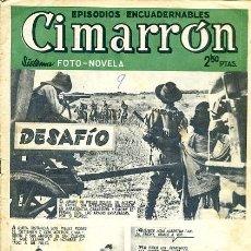 Tebeos: COMIC CIMARRON Nº 9 EDITORIAL GERPLA/CLIPER. Lote 99136503