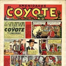 Tebeos: COMIC ORIGINAL EL COYOTE Nº 3 EDITORIAL CLIPER. Lote 99141227