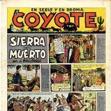 Tebeos: COMIC ORIGINAL EL COYOTE Nº 8 EDITORIAL CLIPER. Lote 99141435