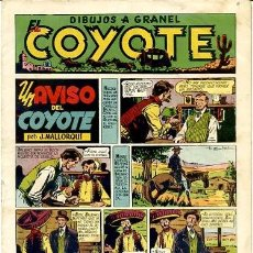 Tebeos: COMIC ORIGINAL EL COYOTE Nº 9 EDITORIAL CLIPER. Lote 99141487