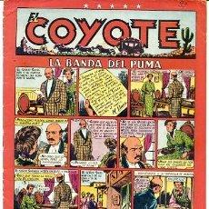 Tebeos: COMIC ORIGINAL EL COYOTE Nº 22 EDITORIAL CLIPER. Lote 99142331