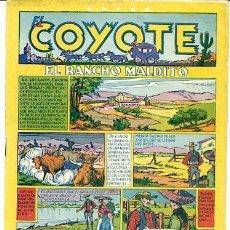 Tebeos: COMIC ORIGINAL EL COYOTE Nº 31 EDITORIAL CLIPER. Lote 99145203