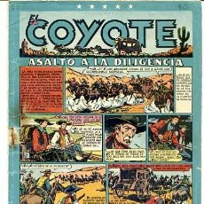 Tebeos: COMIC ORIGINAL EL COYOTE Nº 40 EDITORIAL CLIPER. Lote 99145659