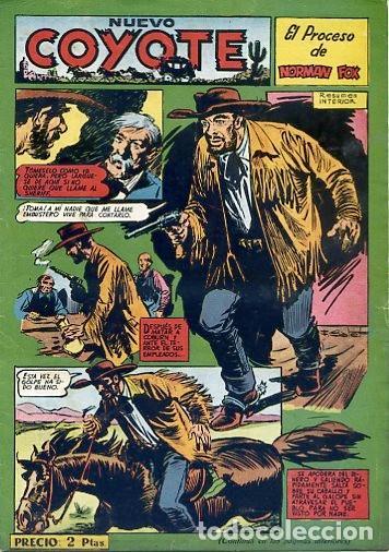 COMIC ORIGINAL EL COYOTE Nº 126 EDITORIAL CLIPER (Tebeos y Comics - Cliper - El Coyote)