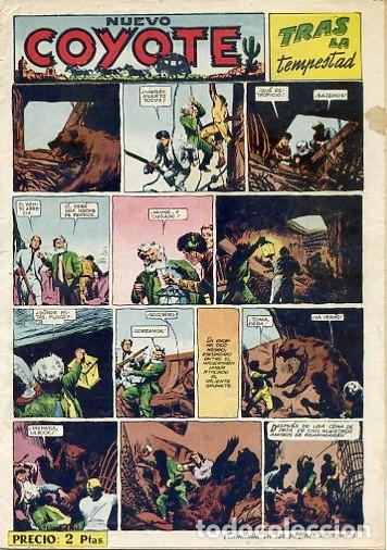 COMIC ORIGINAL EL COYOTE Nº 129 EDITORIAL CLIPER (Tebeos y Comics - Cliper - El Coyote)