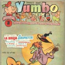 Tebeos: YUMBO DE CLIPER LOTE 10 EJEMPLARES ENCUADERNADOS. Lote 101163051