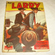 Tebeos: MAC LARRY N° 27 . PISTAS EN RIO LADRON. Lote 101381335