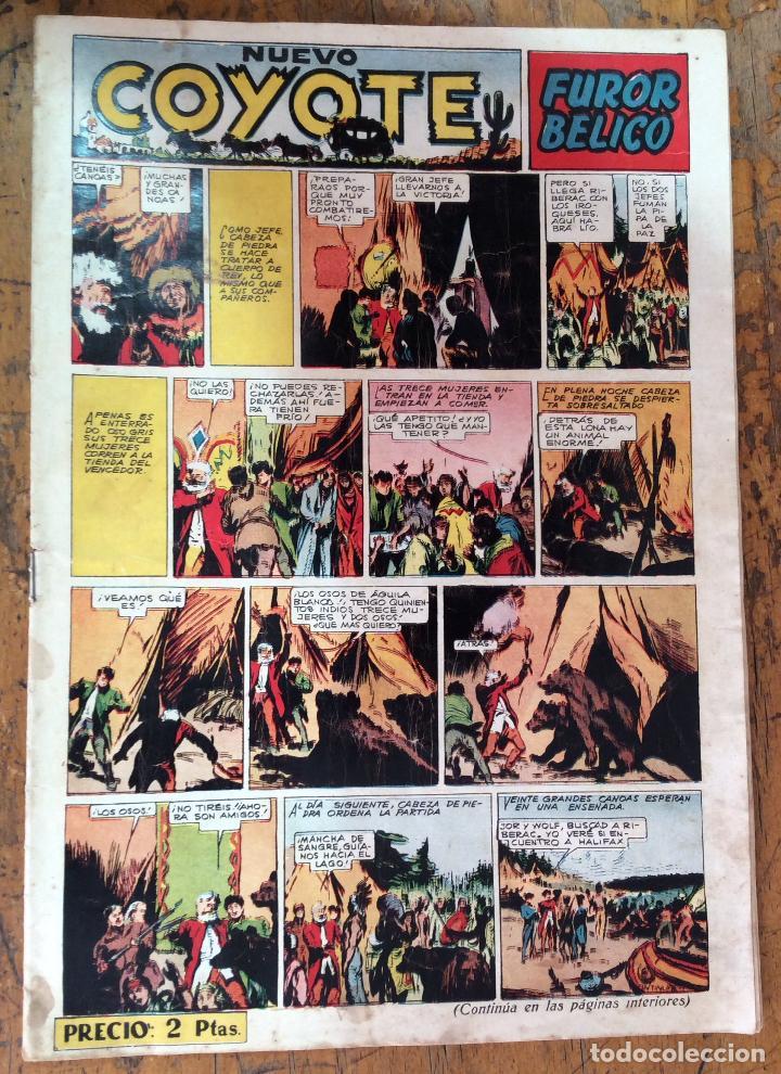 NUEVO COYOTE N-134 (Tebeos y Comics - Cliper - El Coyote)