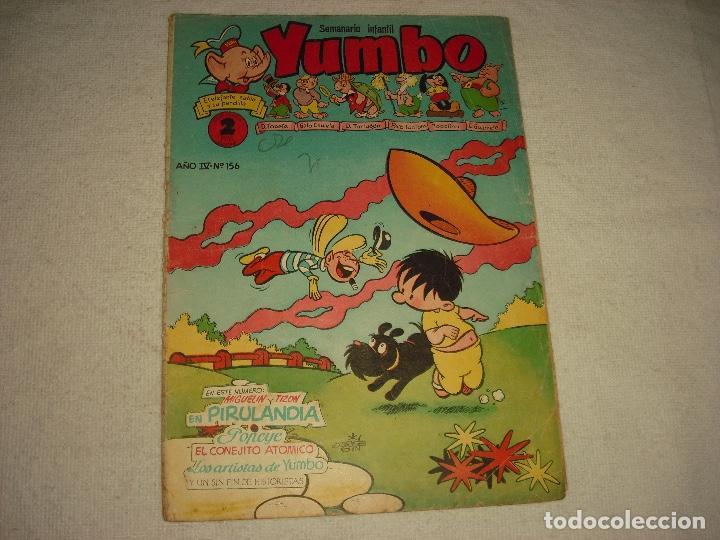 YUMBO N° 156 (Tebeos y Comics - Cliper - Yumbo)