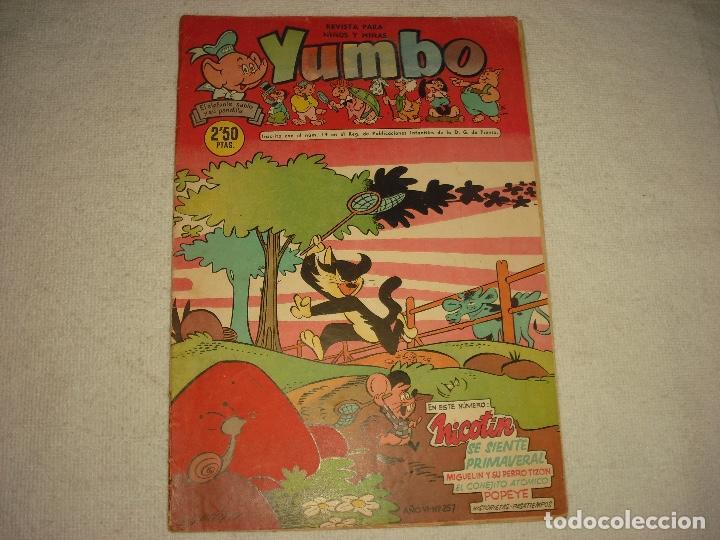 YUMBO N° 257 . 1958 (Tebeos y Comics - Cliper - Yumbo)