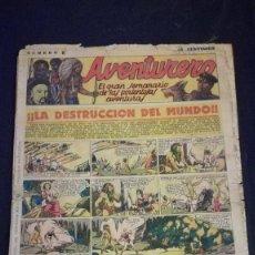 Tebeos: COMIC TEBEO SEMANARIO AVENTURERO AÑO 1935 NÚMERO 6. Lote 101717115