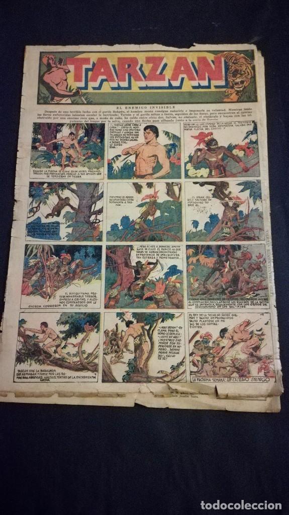 Tebeos: Comic tebeo semanario aventurero año 1935 número 6 - Foto 3 - 101717115
