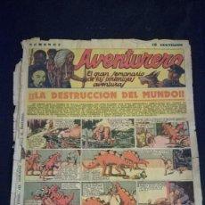 Tebeos: COMIC TEBEO SEMANARIO AVENTURERO AÑO 1935 NÚMERO 7. Lote 101717167