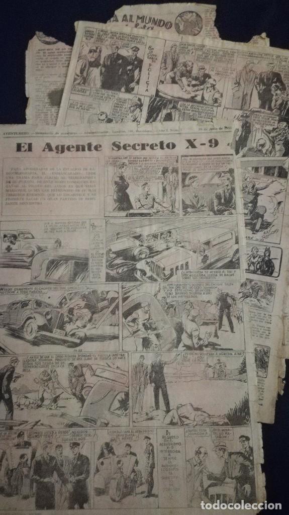 Tebeos: Comic tebeo semanario aventurero año 1935 número 7 - Foto 2 - 101717167