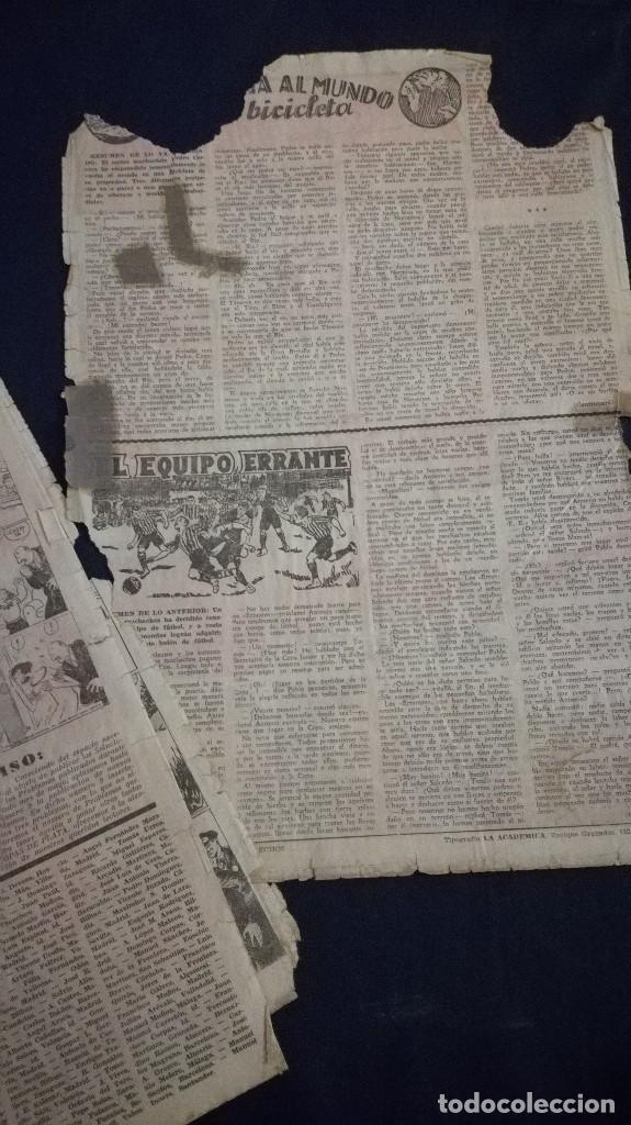 Tebeos: Comic tebeo semanario aventurero año 1935 número 7 - Foto 3 - 101717167