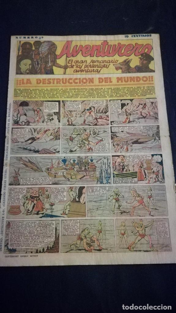 COMIC TEBEO SEMANARIO AVENTURERO AÑO 1935 NÚMERO 8 (Tebeos y Comics - Cliper - Aventurero)