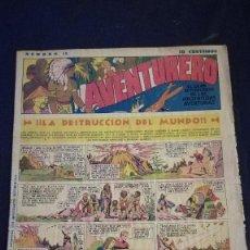 Tebeos: COMIC TEBEO SEMANARIO AVENTURERO AÑO 1935 NÚMERO 12. Lote 101717387