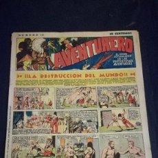 Tebeos: COMIC TEBEO SEMANARIO AVENTURERO AÑO 1935 NÚMERO 14. Lote 101717407