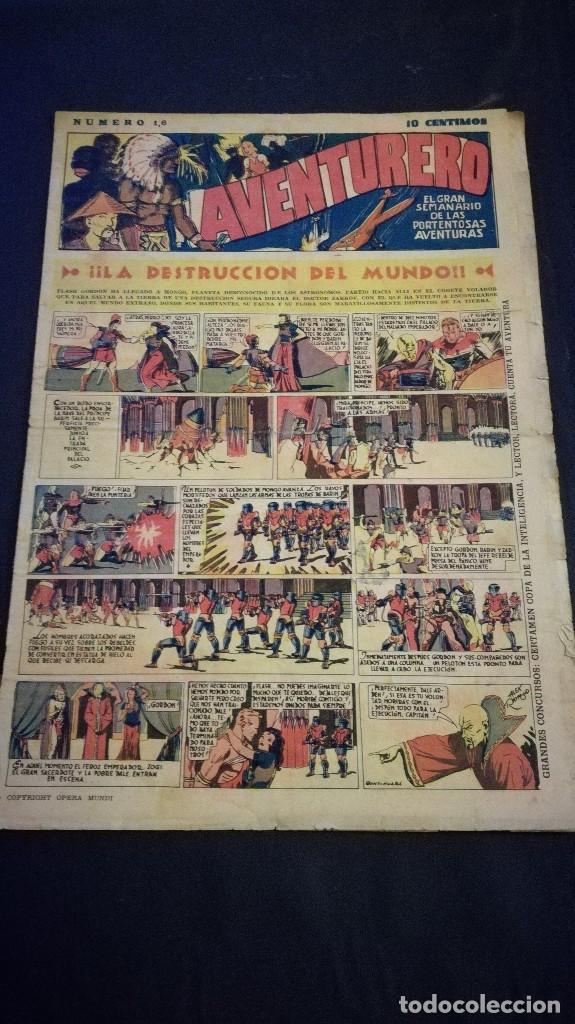 COMIC TEBEO SEMANARIO AVENTURERO AÑO 1935 NÚMERO 16 (Tebeos y Comics - Cliper - Aventurero)