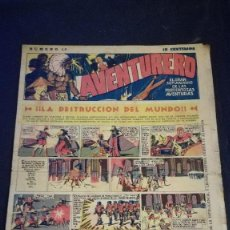 Tebeos: COMIC TEBEO SEMANARIO AVENTURERO AÑO 1935 NÚMERO 16. Lote 101717471