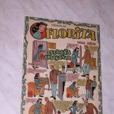 Tebeos: FLORITA Nº 22. VICENTE ROSO, SABATÉS, DARNÍS, RIPOLL G., PILI BLASCO, MACIÁN, GARCÍA. CLIPER 1950+. Lote 102499055