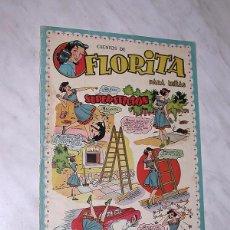 Tebeos: FLORITA Nº 54. VICENTE ROSO, SABATÉS, RIPOLL G., PILI BLASCO, MESTRES, MIRIOL, RIBERA. CLIPER 1950 +. Lote 102507587