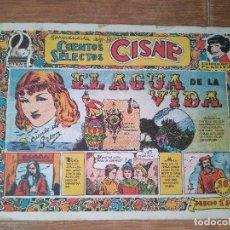 Tebeos: CUENTOS SELECTOS CISNE Nº 19 EL AGUA DE LA VIDA EDITORIAL CLIPER ORIGINAL FLORITA 1955. Lote 104031899