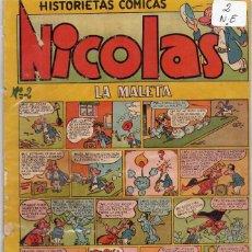Tebeos: LOTE DE 9 EJEMPLARES HISTORIETAS COMICAS NICOLAS *** NÚMEROS 2-3-4-5-6-7-8-9-10. Lote 104095883