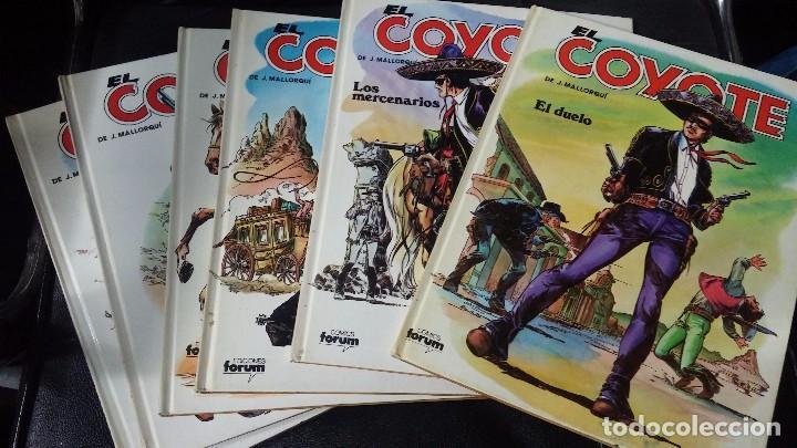 EL COYOTE 6 TOMOS NUMERADOS DEL 2 AL 7 (Tebeos y Comics - Cliper - El Coyote)