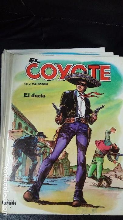 Tebeos: el coyote 6 tomos numerados del 2 al 7 - Foto 3 - 104630479