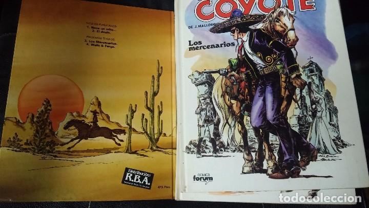 Tebeos: el coyote 6 tomos numerados del 2 al 7 - Foto 4 - 104630479