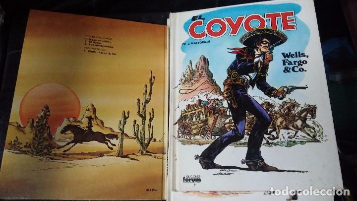 Tebeos: el coyote 6 tomos numerados del 2 al 7 - Foto 5 - 104630479