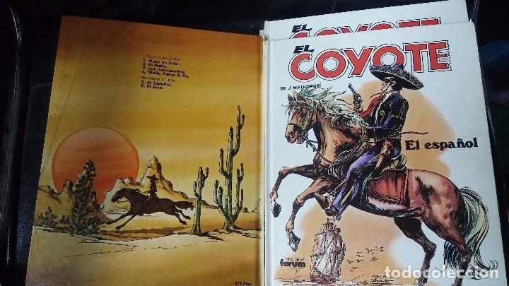 Tebeos: el coyote 6 tomos numerados del 2 al 7 - Foto 6 - 104630479