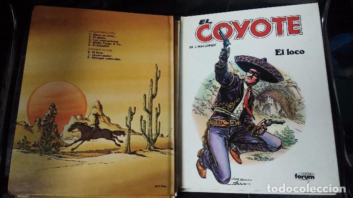 Tebeos: el coyote 6 tomos numerados del 2 al 7 - Foto 7 - 104630479