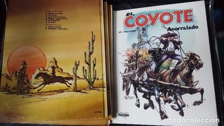 Tebeos: el coyote 6 tomos numerados del 2 al 7 - Foto 8 - 104630479