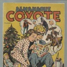 BDs: EL COYOTE: ALMANAQUE 1949, CLIPER, MUY BUEN ESTADO. Lote 106036487