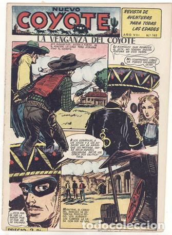 EL COYOTE Nº. 163 (Tebeos y Comics - Cliper - El Coyote)