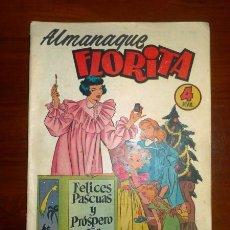 Tebeos - FLORITA : ALMANAQUE 1955 [Extra ; 3] - 107491655