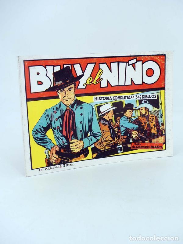 BILLY EL NIÑO HISTORIA COMPLETA. REEDICIÓN FACSIMIL (ALEJANDRO BLASCO) COMIC MAM, 1988. OFRT (Tebeos y Comics - Cliper - Otros)