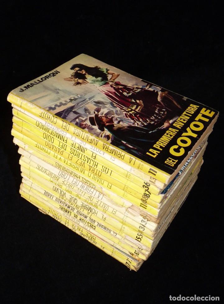 LOTE DE 19 NOVELAS DEL COYOTE. J. MALLORQUI. EDICIONES CID, AÑOS 60 (Tebeos y Comics - Cliper - El Coyote)