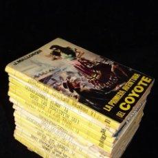 Tebeos: LOTE DE 19 NOVELAS DEL COYOTE. J. MALLORQUI. EDICIONES CID, AÑOS 60. Lote 108689639