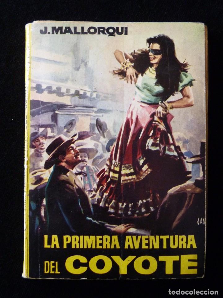 Tebeos: LOTE DE 19 NOVELAS DEL COYOTE. J. MALLORQUI. EDICIONES CID, AÑOS 60 - Foto 3 - 108689639