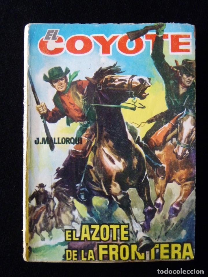 Tebeos: LOTE DE 19 NOVELAS DEL COYOTE. J. MALLORQUI. EDICIONES CID, AÑOS 60 - Foto 4 - 108689639