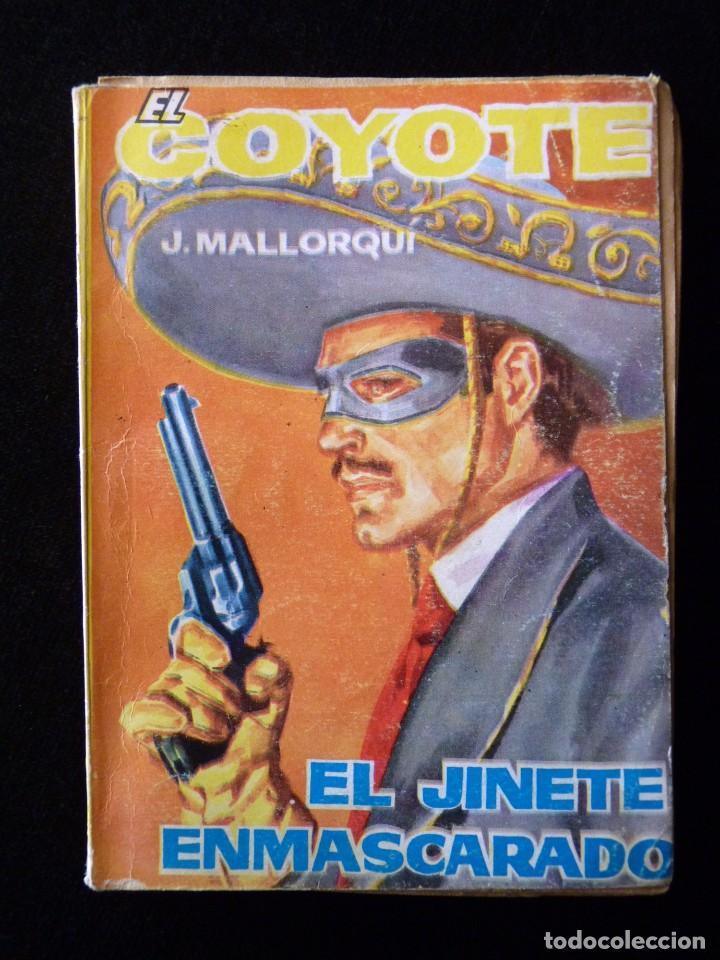 Tebeos: LOTE DE 19 NOVELAS DEL COYOTE. J. MALLORQUI. EDICIONES CID, AÑOS 60 - Foto 5 - 108689639