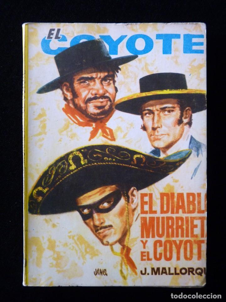 Tebeos: LOTE DE 19 NOVELAS DEL COYOTE. J. MALLORQUI. EDICIONES CID, AÑOS 60 - Foto 8 - 108689639